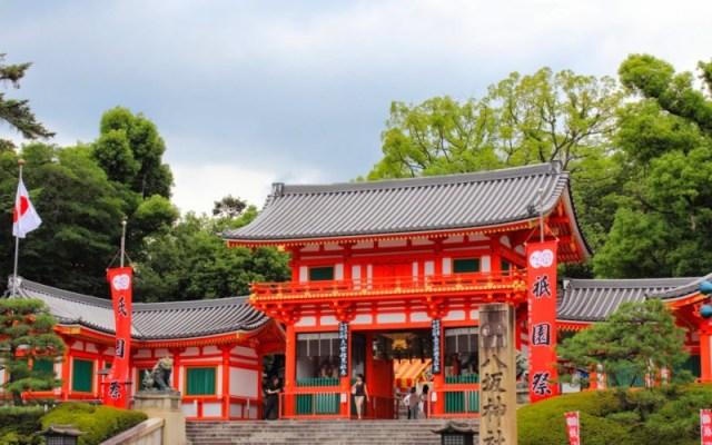 Kuil Yasaka di Kyoto Jepang