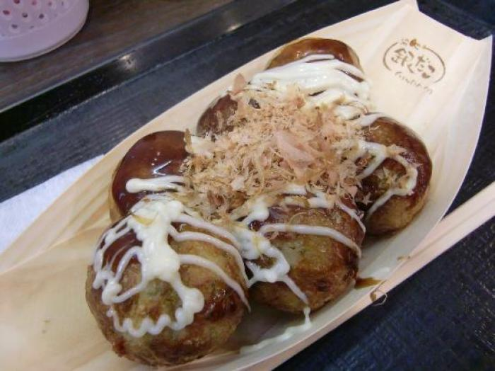 Takoyaki Gindaco Porta Kyoto