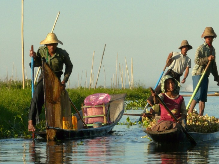 Inle Lake - Lokal People