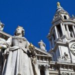 Queen Anne at St Pauls Cathedral