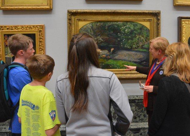 family tour at Tate Britain