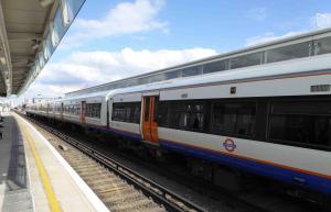 London-transport overground train