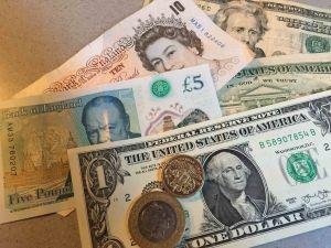 travel money dollars sterling