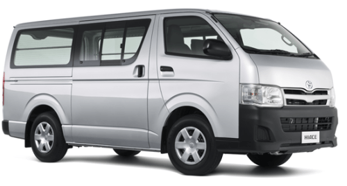 Toyota Hiace for tours