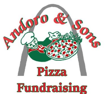 Pizza Fundraiser Logo Andoro and Sons