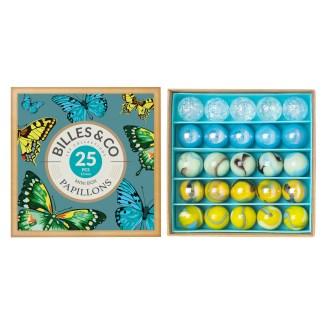 Boîte de billes Papillons