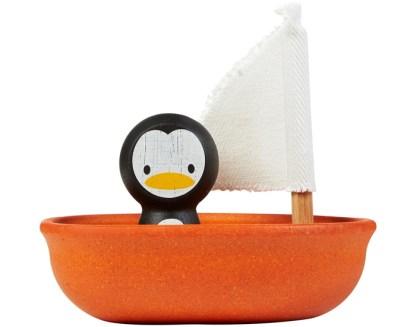 Bateau à voile - pingouin