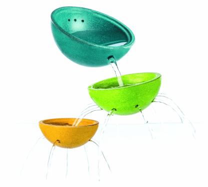 Fontaines en bol