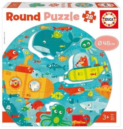 Round Puzzle - Le fond de la mer