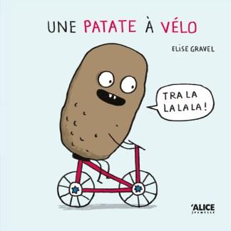 Une patate à vélo - le livre