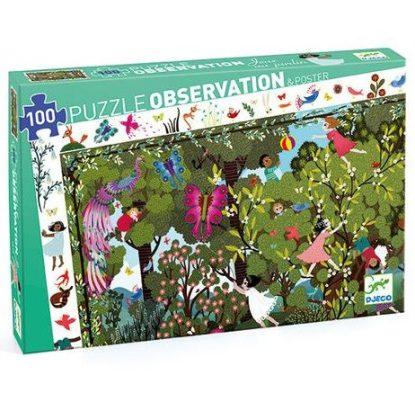 Puzzle - Observation jeux au jardin