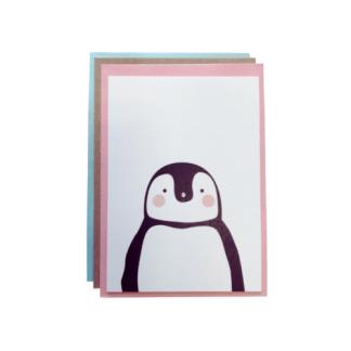 Carte de voeux - pingouin