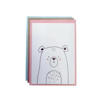 Carte de voeux - ours