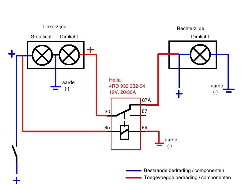 2014 Yamaha Fz6 Wiring Diagram Holiday Project Mod Switchable Dual Head Lights Yamaha