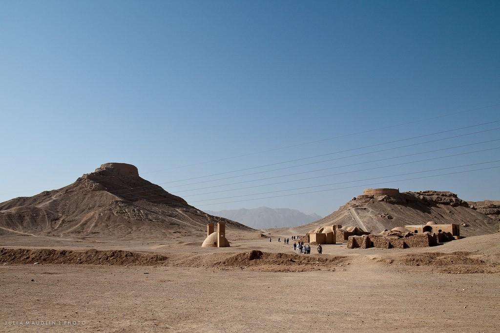 Две башни молчания в Иране