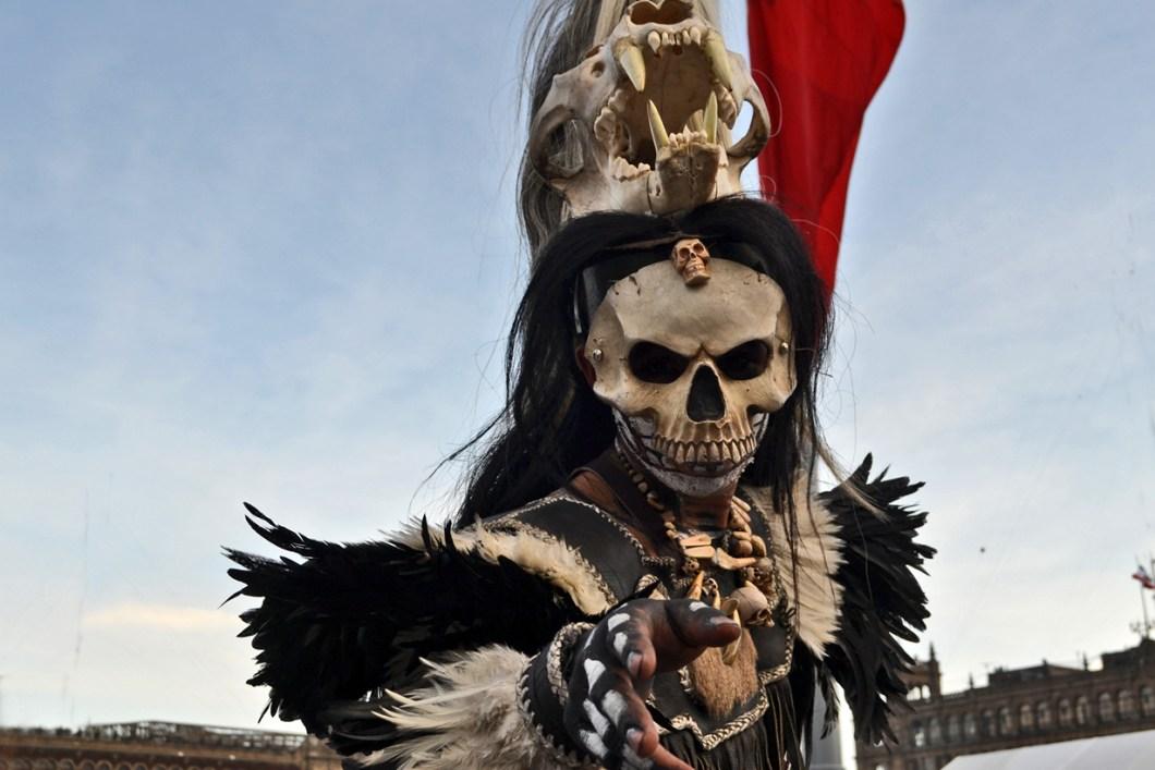 карнавальный костюм Дня Мертвых