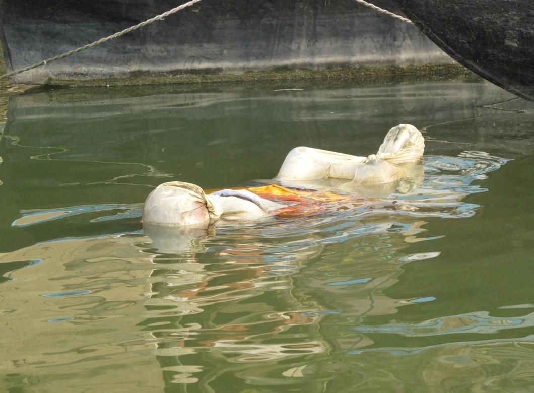 ужасные речные находки Ганга