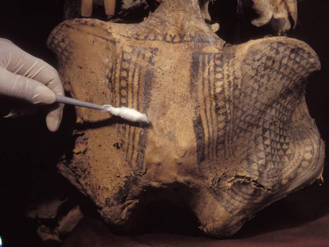 татуировка на мумии