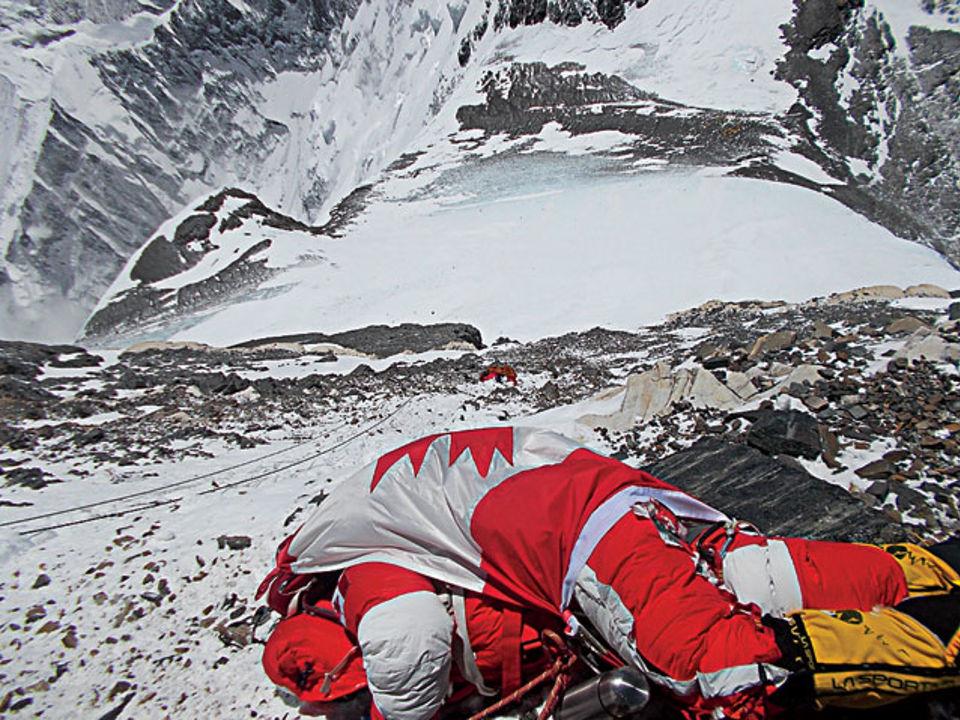 канадская альпинистка