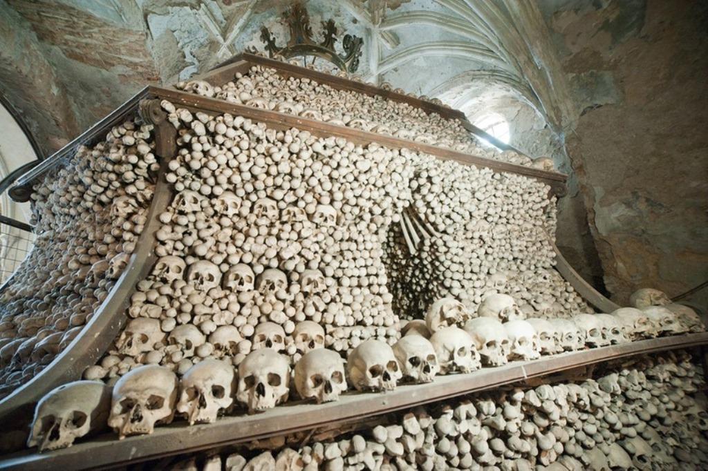 костяной саркофаг