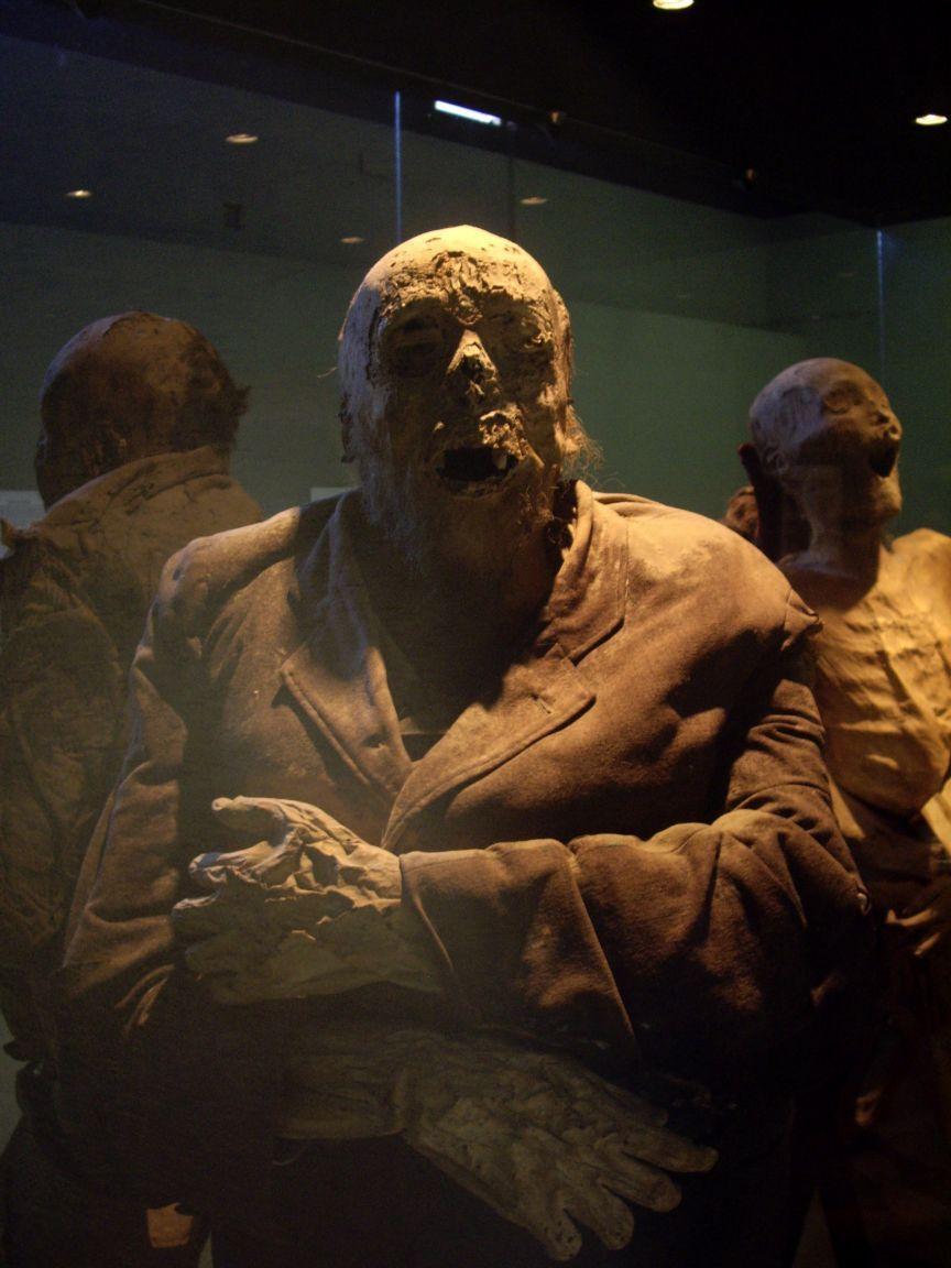 мужская мумия
