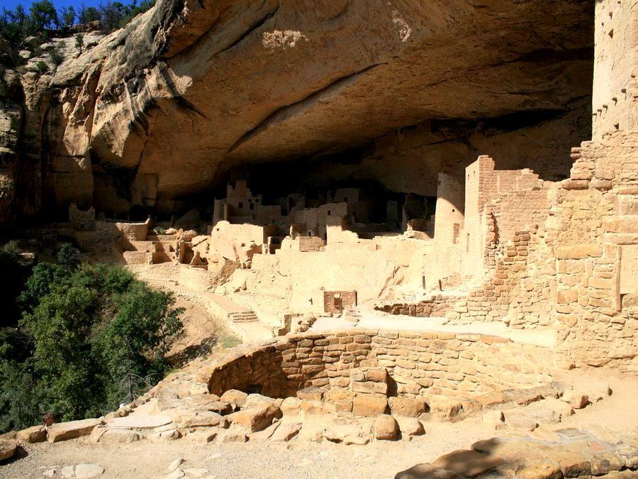 дом с колодцем древних пуэбло
