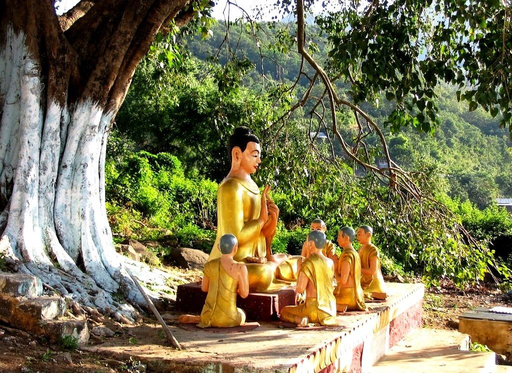 будда горы попа