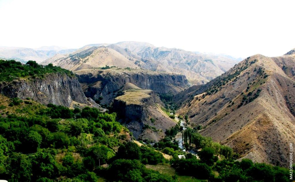 панорама реки азат