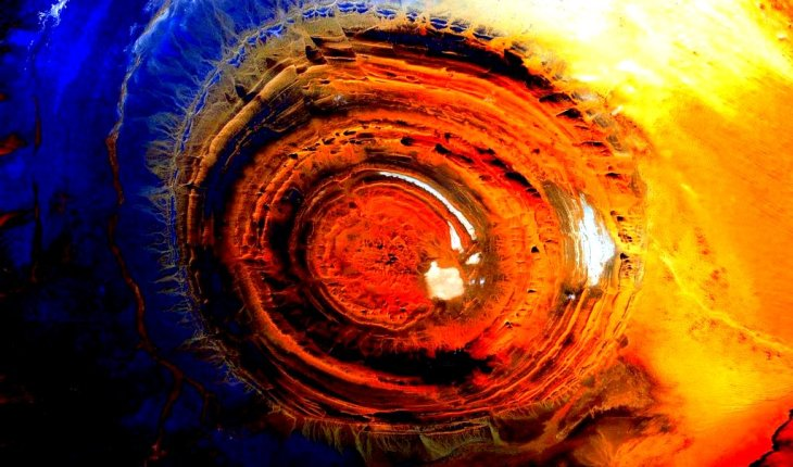 глаз земли