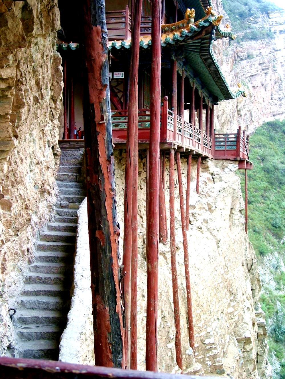 лестница сюанькун-сы