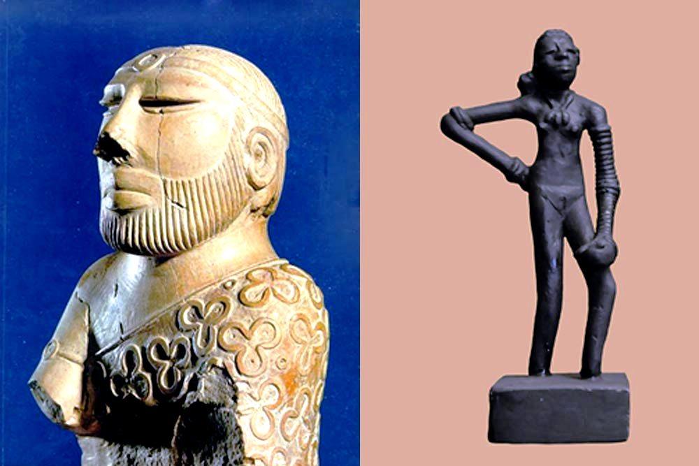скульптуры мохенджо-даро