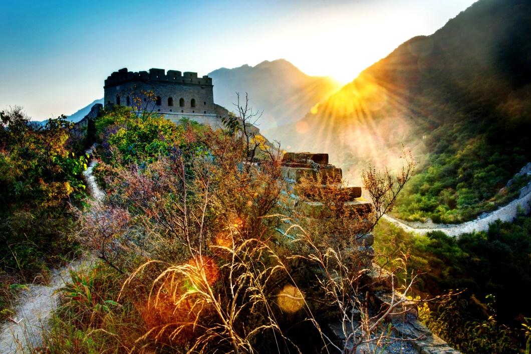 краски Великой стены