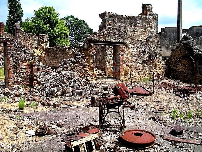 развалины Орадура