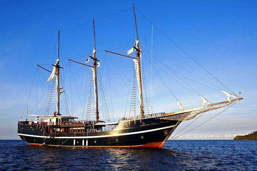 корабль комодо