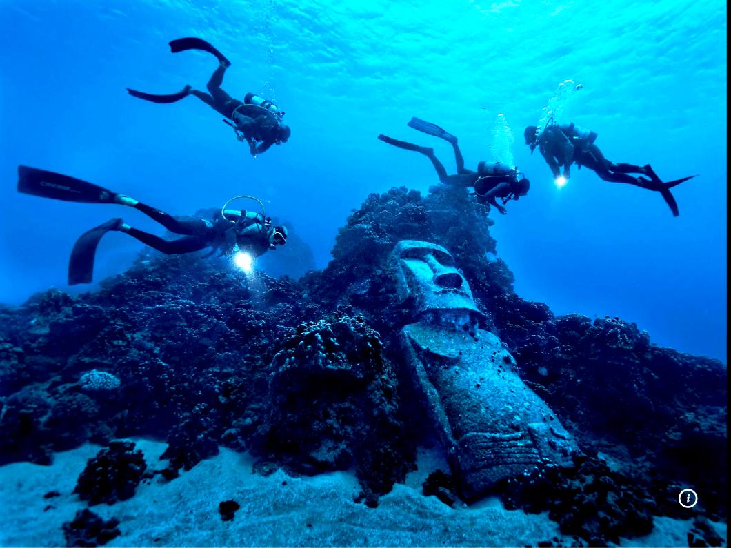 бутафорский моаи
