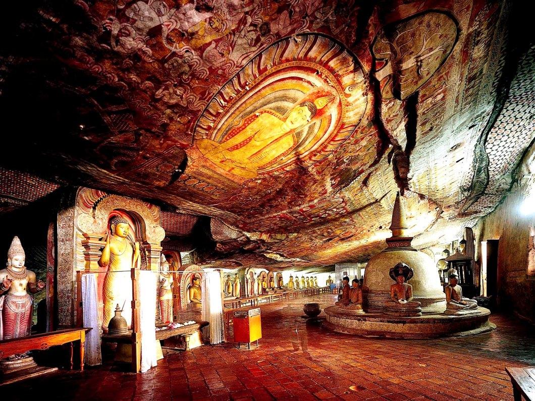 виды пещер дамбуллы