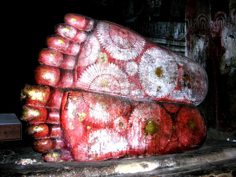 ноги будды