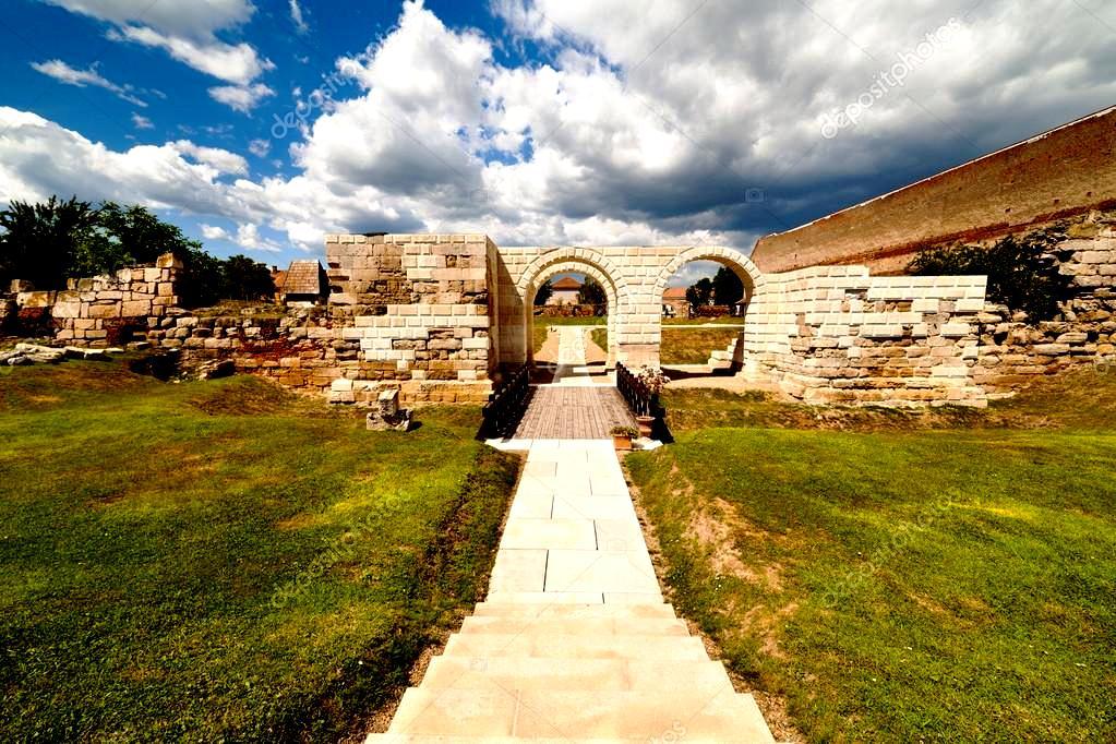 римская крепость