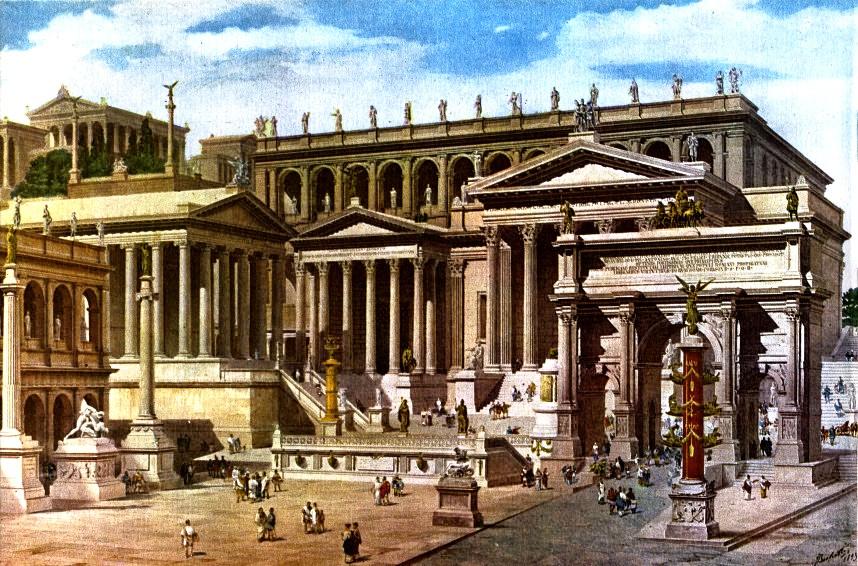 картина римского форума