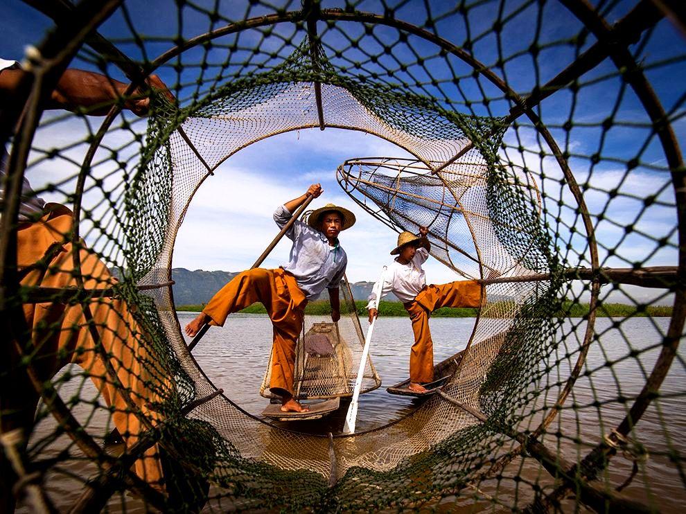 сетка рыбака инта