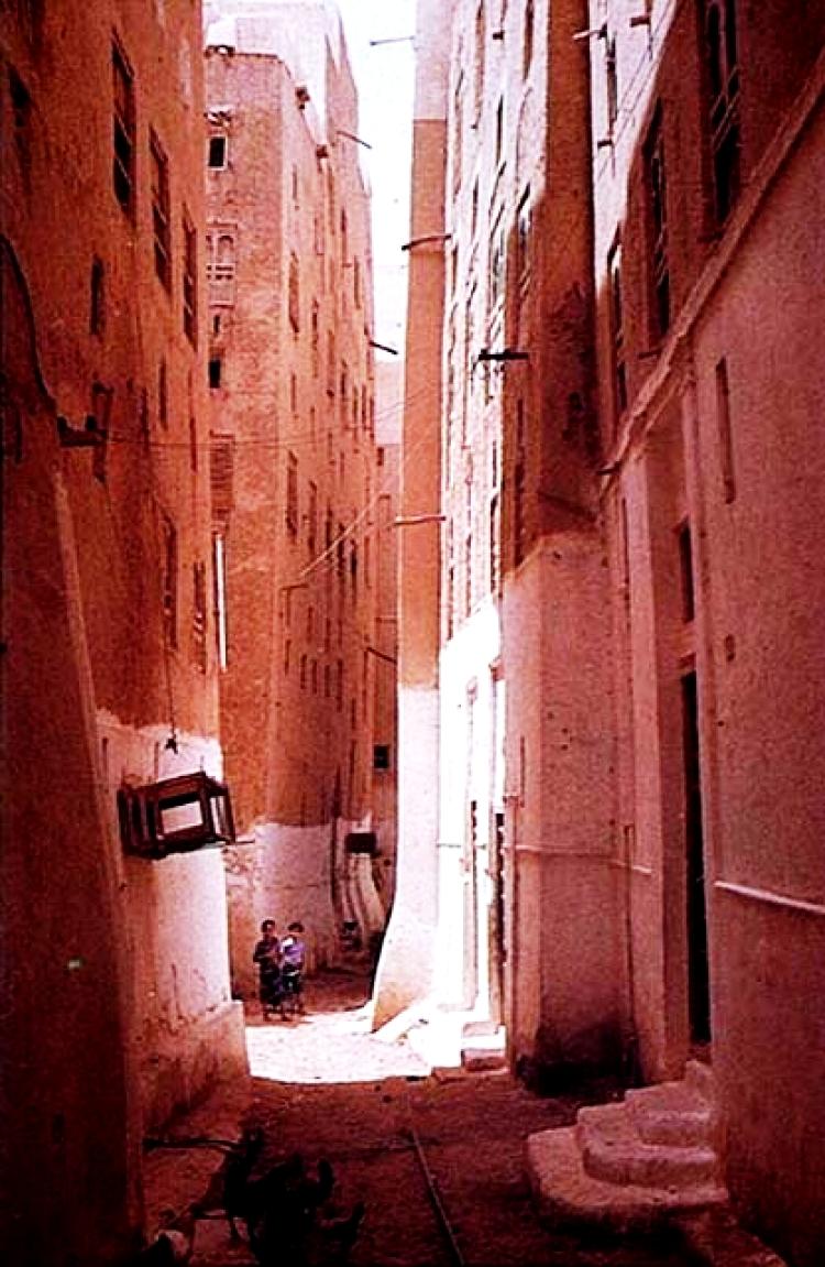 улицы шибама