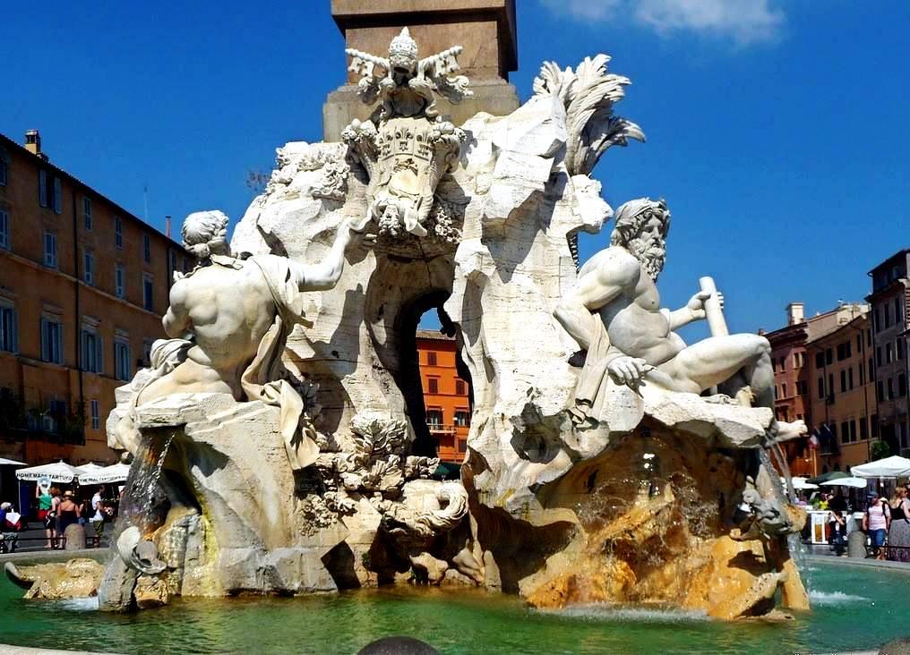 четырех рек фонтан