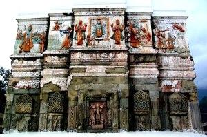 стена бхарат мандира
