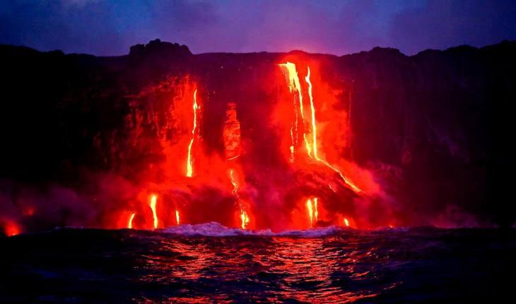 вулканы Гавайев