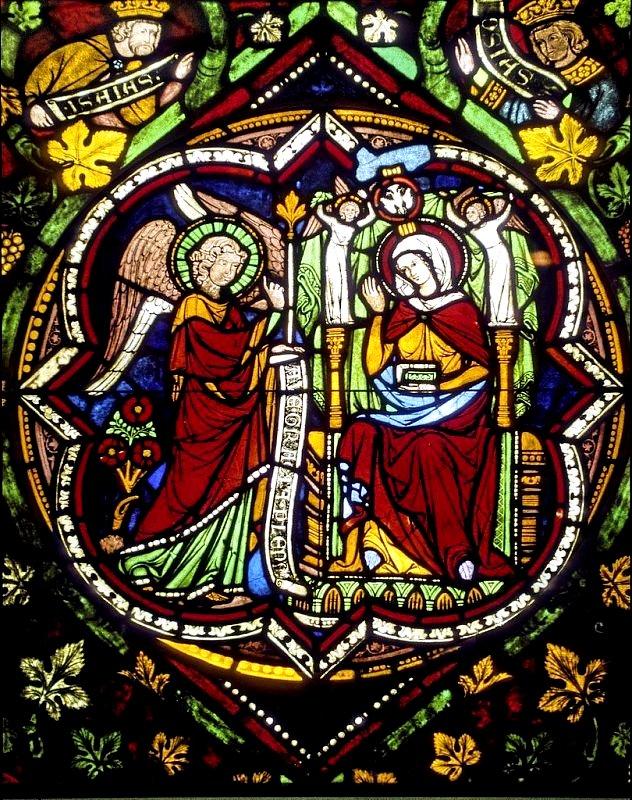 прекрасные витражи кельнского собора