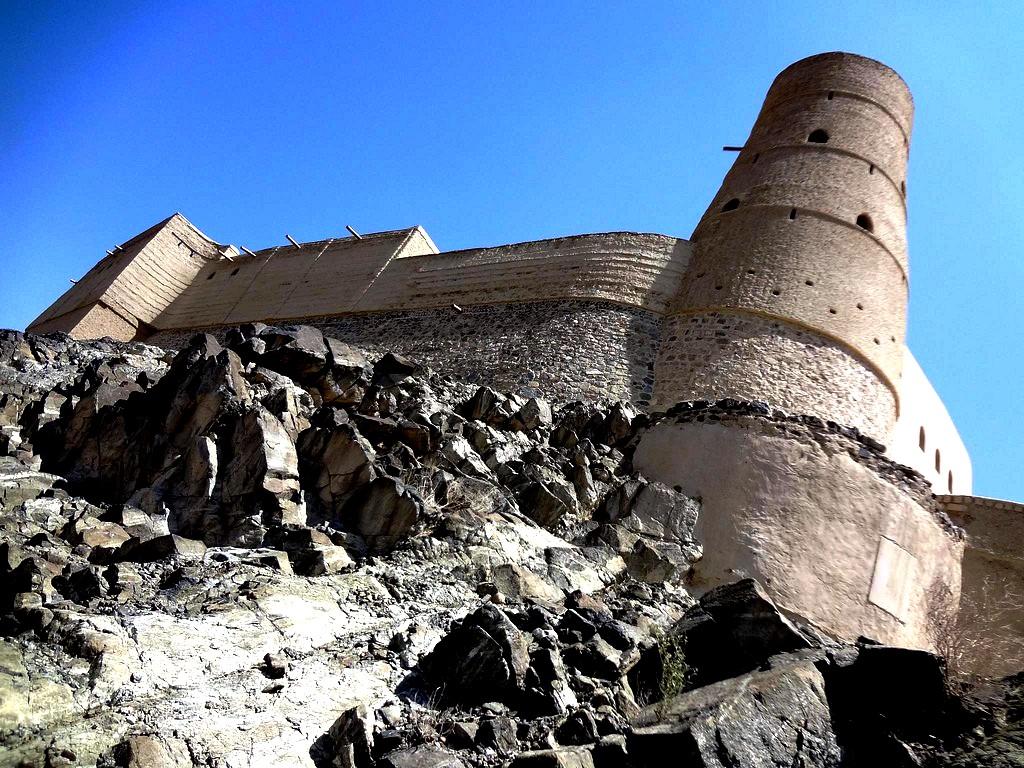 бастионы форта бахла