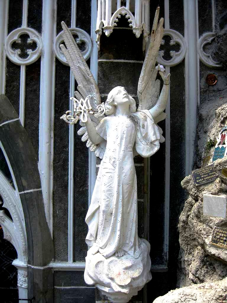 скульптура ангела в лас-лахасе