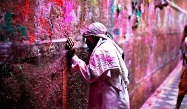 молящийся кришнаит