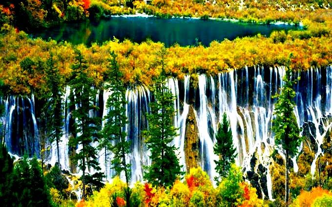 водопад хуанлуна