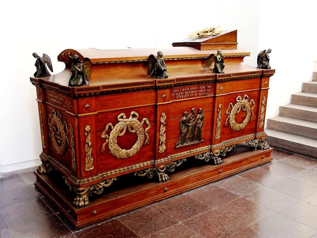 саркофаг собора в роскилле